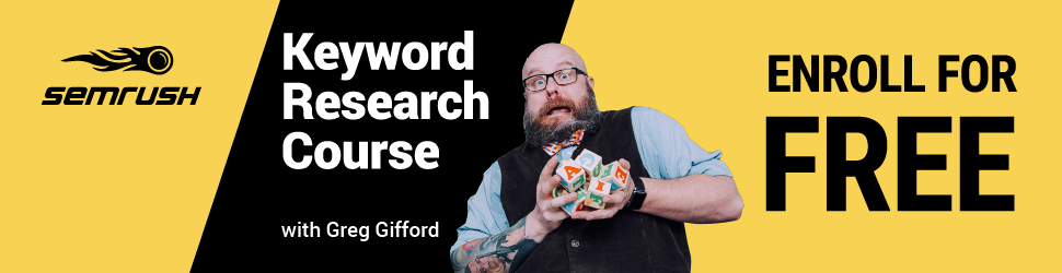 Keyword Research Course